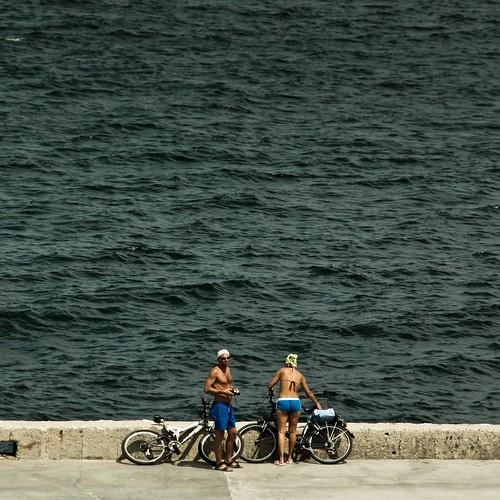 Riding or Swimming (Nessebar, Bulgarie) - Photo : Gilderic