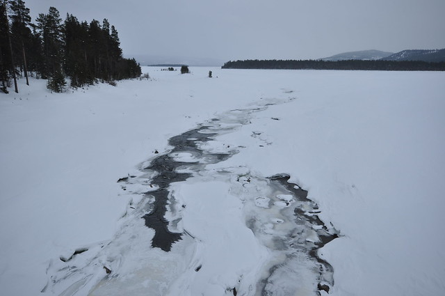 Swedish ice river