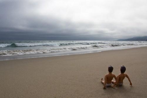 Ken & Ken at the beach