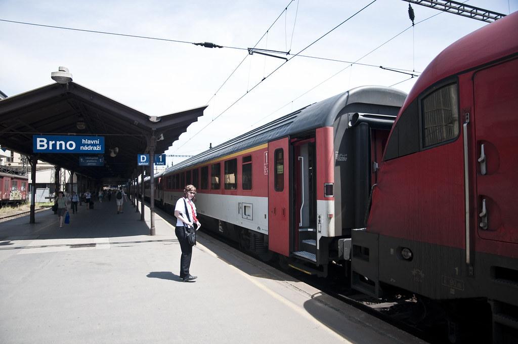 At Brno hlavní nádraží