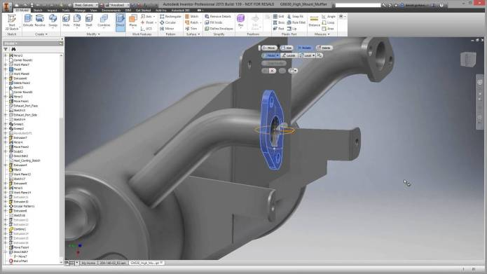 Designing with Autodesk Inventor Professional 2015 SP1 full