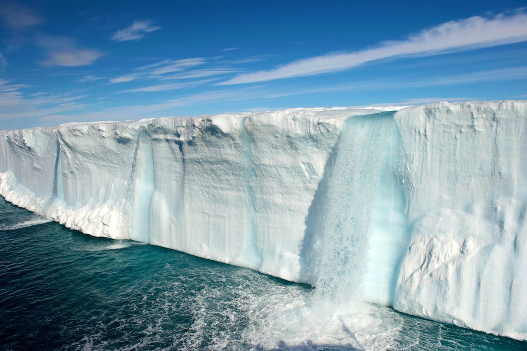 Melting Ice Cap