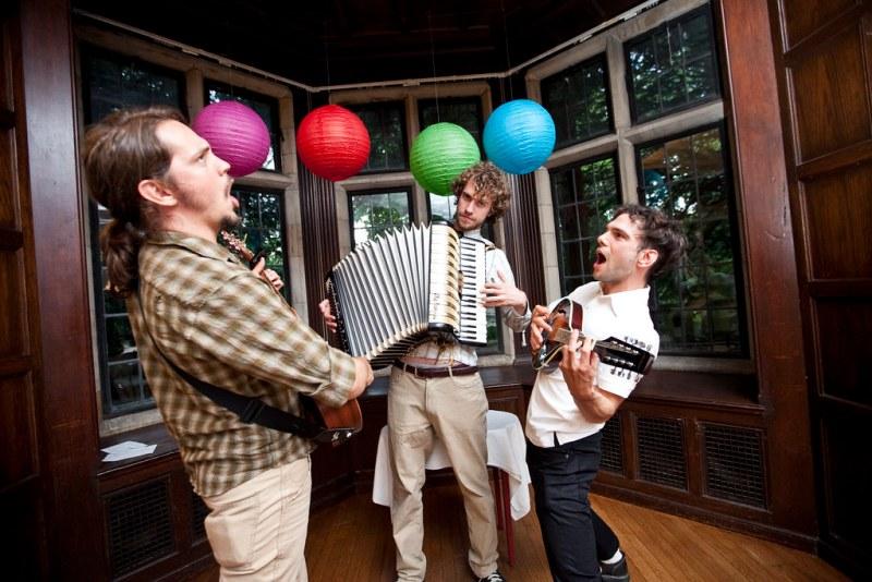 Three Mad Musicians