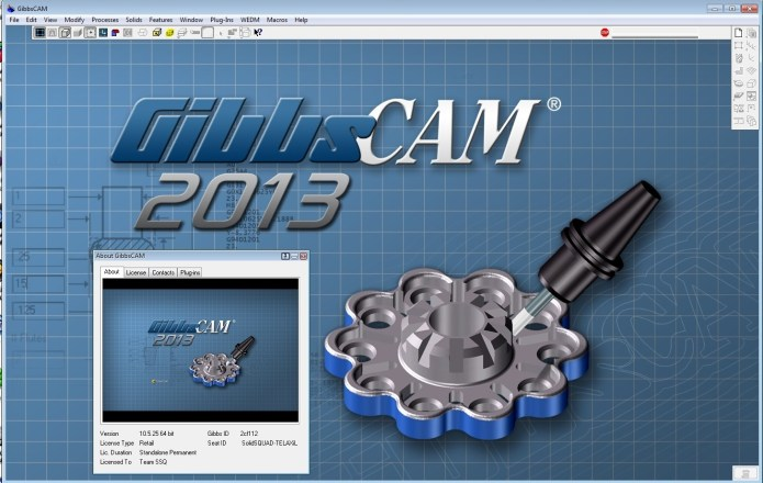 Working with GibbsCAM 2013 (v10.5.25.0) 32bit 64bit full crack