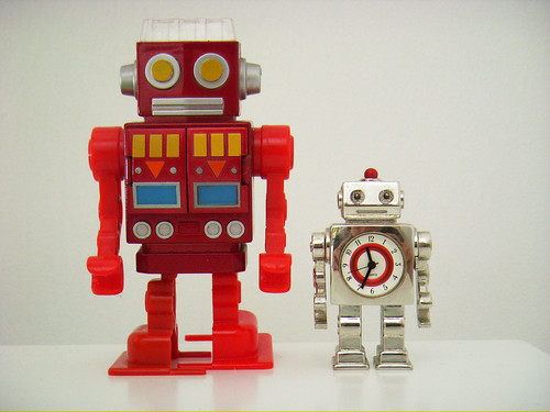 We are no robots... are you?