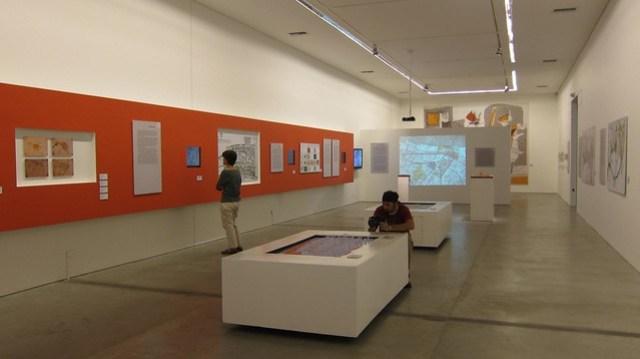 Architecture exhibit in Museo del Arte Moderno, Medellin