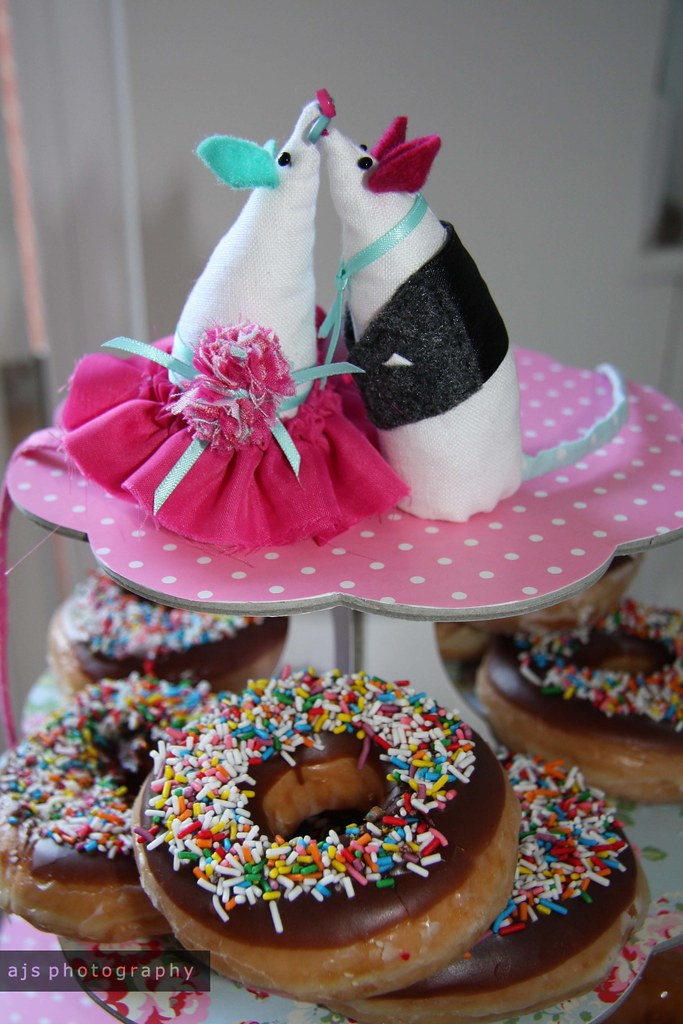big day | doughnut cake