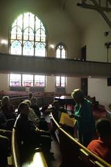 Tour group at Sharp Street Memorial United Methodist Church, Etting Street