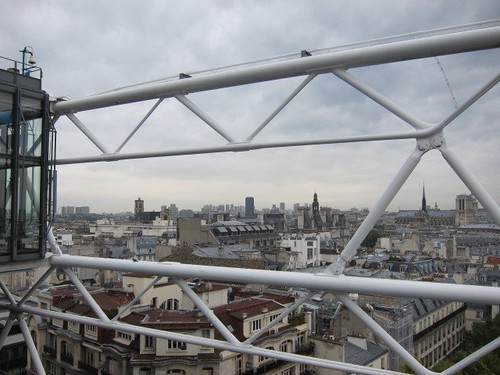 Paris desde el Pompidou