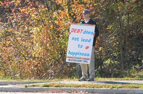 Debt Prevention Rally 13 Nov 10
