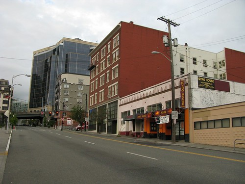 Alki Hotel from 5th, 2010