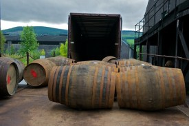 Casks Ready for Filling