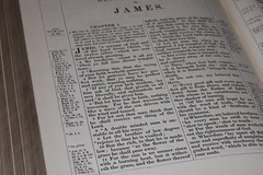King James Bible - James 1 v 5