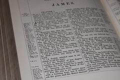 King James Bible - James 1 v 5