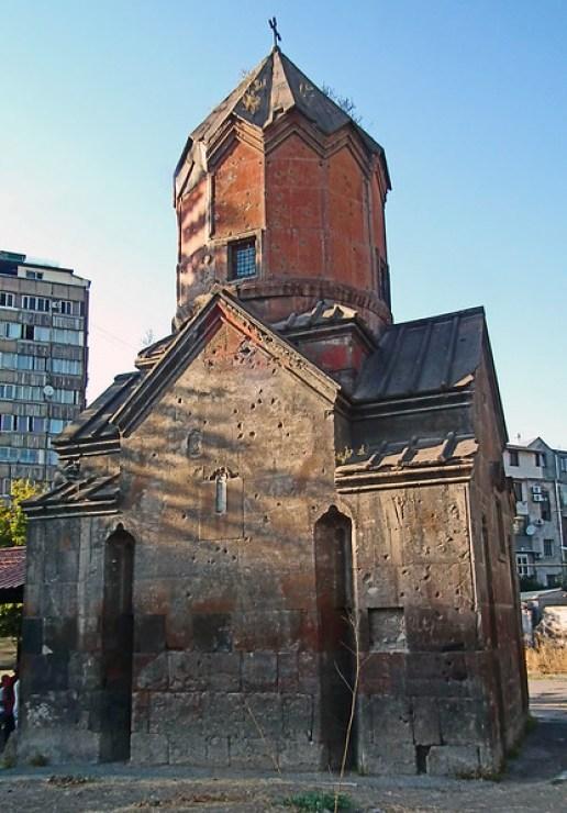 exterior Iglesia de la Santa Madre de Dios Katoghike Yerevan Armenia 02