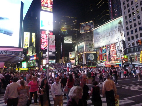 Summer in Times Square