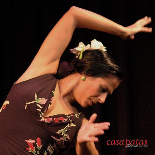 Raquela Ortega, bailaora de Madrid. Foto: Martín Guerrero