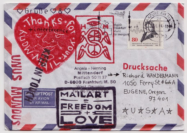 Mail Art from Angela and Henning Mittendorf