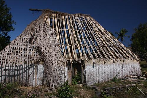 Hurricane Damage - Navala Village - Nausori Highlands - Fiji by Mark Heard