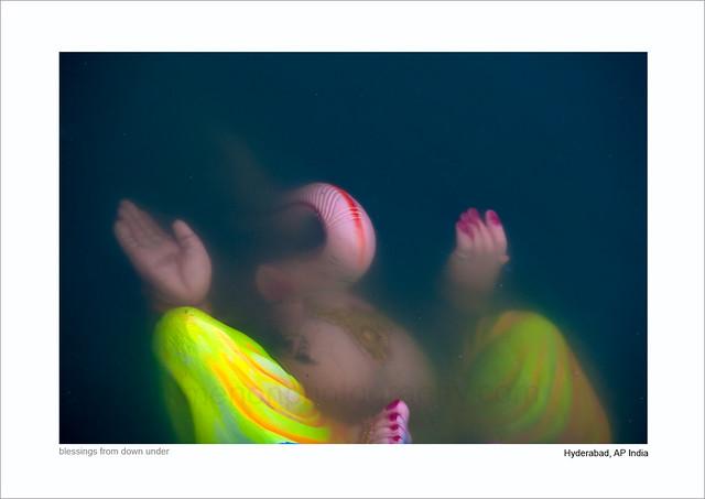 blessings from down under....  Ganeshotsav 2010, Hyd AP India; by Ravi Menon