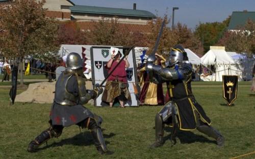 Swordfight at Ren Faire