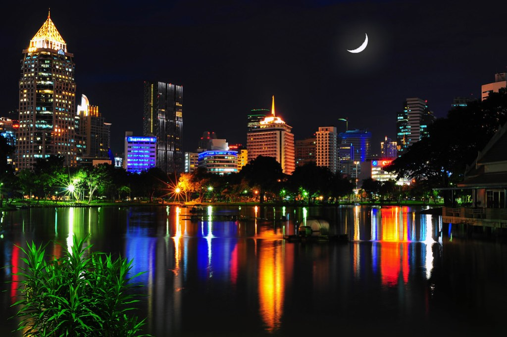 Lumpini Park Lights