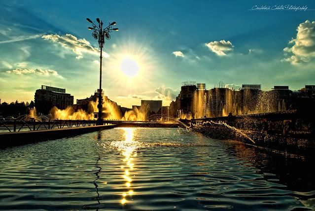 Shining waterworld