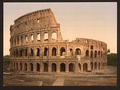 [Exterior of the Coliseum, Rome, Italy] (LOC)