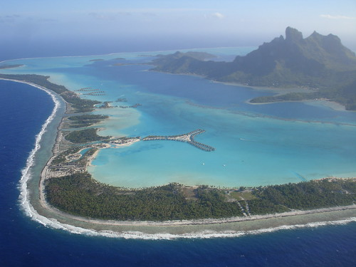 The St. Regis Bora Bora, Le Meridien and the Intercontinental Resorts.