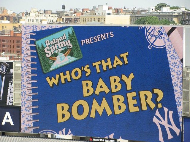 Who's That Baby Bomber?
