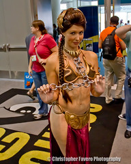 Slave Girl Leia SDCC 2010