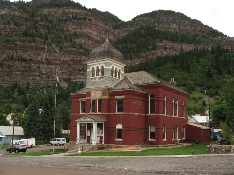 Ouray County Courthouse, Ouray, Colorado