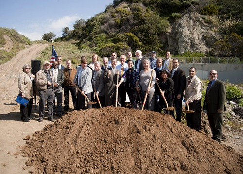 Potrero Canyon Park Ground Breaking Ceremony