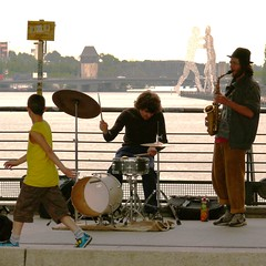 jazz on the bridge