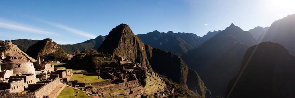 Panorama of Machu Picchu 2010