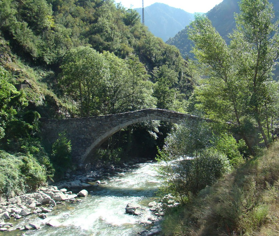 Puente romanico La Margineda-Andorra 1