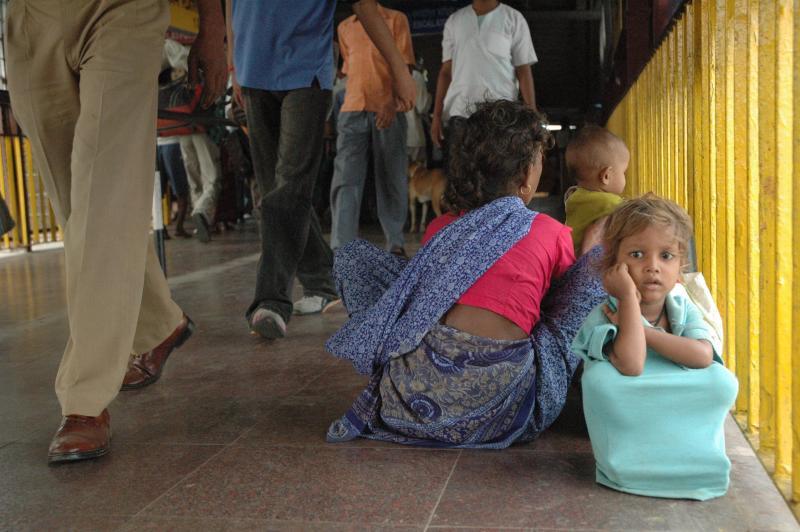 Against all odds, she fathers me too. Hazrat Nizamuddin, Delhi