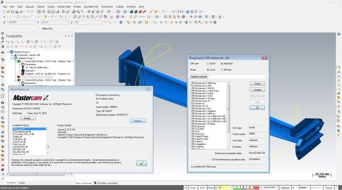 program with Mastercam X9 v18.0.11898.0 full license