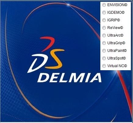 DS DELMIA VMAP V5-6R2017 SP2