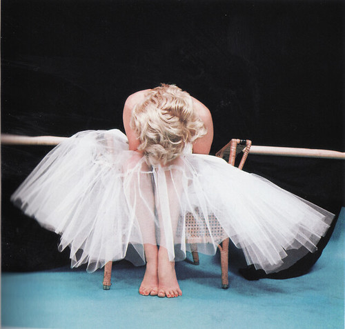 Marilyn Monroe Ballerina Shoot 1954
