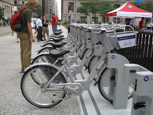 "Chicago Bike ""share"""