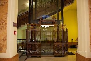 K+K Central Hotel elevator