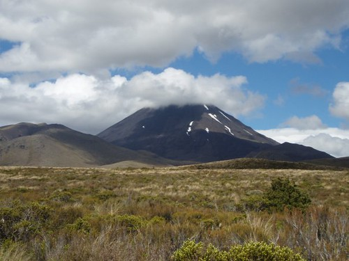 Mt Tongariro by Anna banana bomb