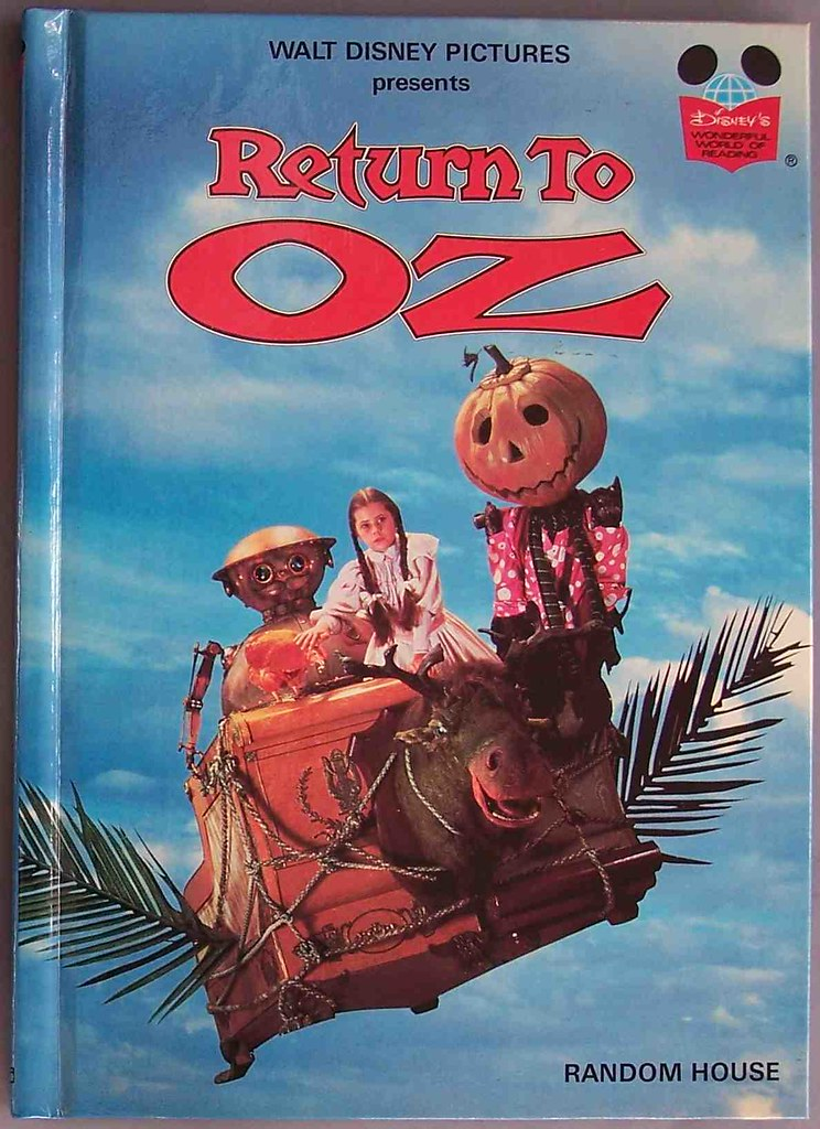 Return to Oz book