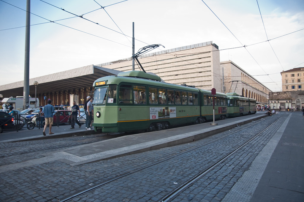 Tram Stop outside Termini Station