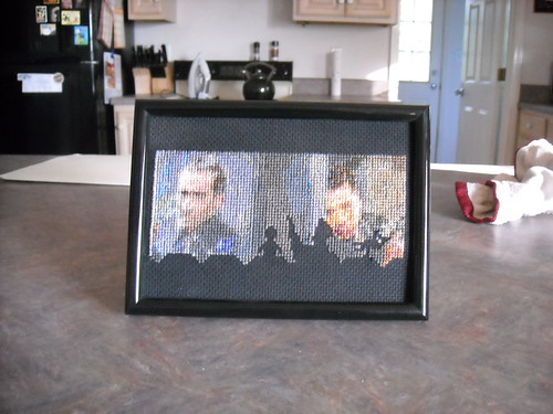 MST3K Face/Off framed and in the wild