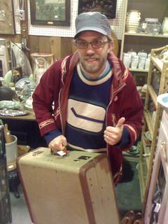 UW with Suitcase