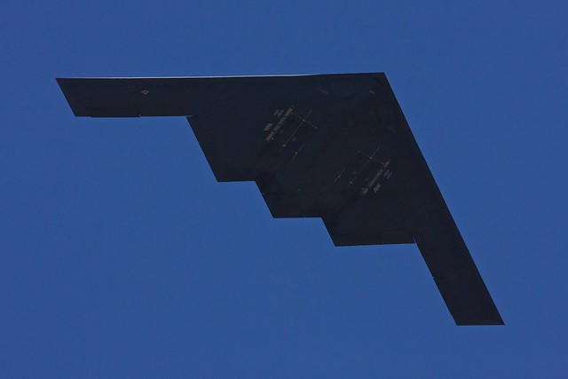 B-2 from below