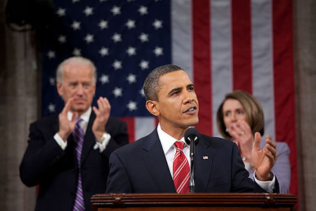 Barack Obama, during the 2010 State Of The Union address