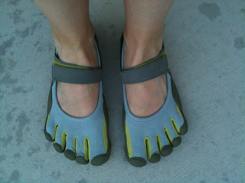 My Vibram Five Fingers